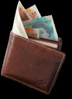wallet, money, pound